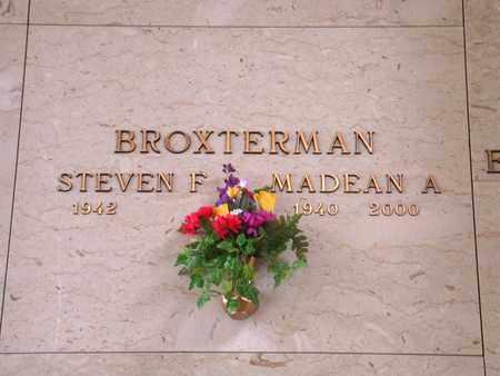 BROXTERMAN, MADEAN A - Wyandotte County, Kansas   MADEAN A BROXTERMAN - Kansas Gravestone Photos