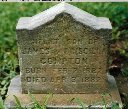 COMPTON, INFANT SON - Wyandotte County, Kansas | INFANT SON COMPTON - Kansas Gravestone Photos
