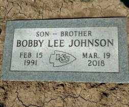 JOHNSON, BOBBY LEE - Wyandotte County, Kansas   BOBBY LEE JOHNSON - Kansas Gravestone Photos