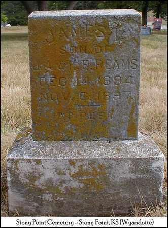 REAMS, JAMES V - Wyandotte County, Kansas | JAMES V REAMS - Kansas Gravestone Photos