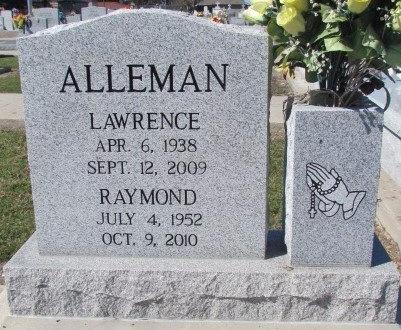 "ALLEMAN, LAWRENCE ""CHICK"" - Acadia County, Louisiana | LAWRENCE ""CHICK"" ALLEMAN - Louisiana Gravestone Photos"