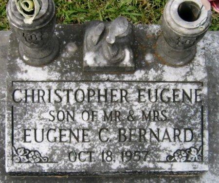 BERNARD, CHRISTOPHER EUGENE - Acadia County, Louisiana | CHRISTOPHER EUGENE BERNARD - Louisiana Gravestone Photos