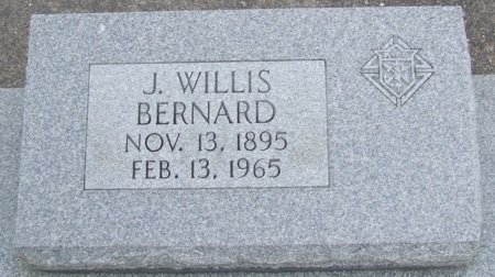 BERNARD, J WILLIS - Acadia County, Louisiana | J WILLIS BERNARD - Louisiana Gravestone Photos