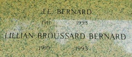 BERNARD, LILIAN - Acadia County, Louisiana | LILIAN BERNARD - Louisiana Gravestone Photos