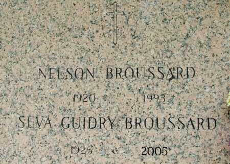 BROUSSARD, SEVA - Acadia County, Louisiana | SEVA BROUSSARD - Louisiana Gravestone Photos