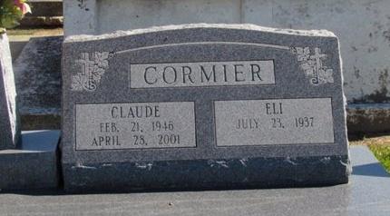 CORMIER, CLAUDE - Acadia County, Louisiana | CLAUDE CORMIER - Louisiana Gravestone Photos