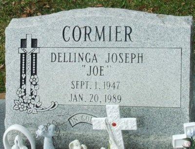 "CORMIER, DELLINGA JOSEPH ""JOE"" - Acadia County, Louisiana   DELLINGA JOSEPH ""JOE"" CORMIER - Louisiana Gravestone Photos"