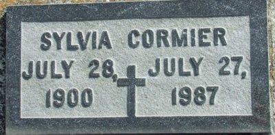 CORMIER, SYLVIA - Acadia County, Louisiana | SYLVIA CORMIER - Louisiana Gravestone Photos