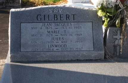 GILBERT, JEAN JACQUES - Acadia County, Louisiana | JEAN JACQUES GILBERT - Louisiana Gravestone Photos
