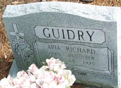 GUIDRY, AVIA - Acadia County, Louisiana | AVIA GUIDRY - Louisiana Gravestone Photos
