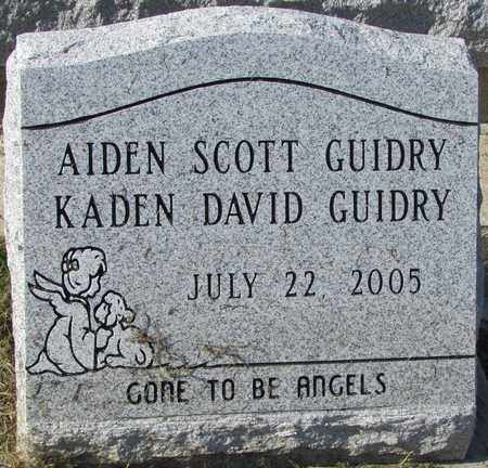 GUIDRY, AIDEN SCOTT - Acadia County, Louisiana | AIDEN SCOTT GUIDRY - Louisiana Gravestone Photos