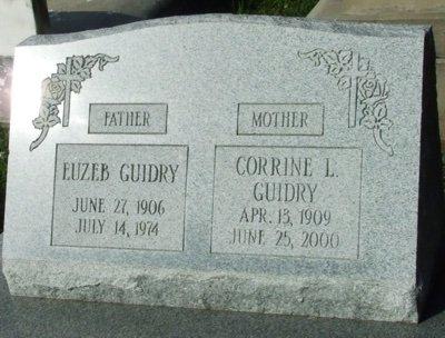 GUIDRY, EUZEB - Acadia County, Louisiana | EUZEB GUIDRY - Louisiana Gravestone Photos