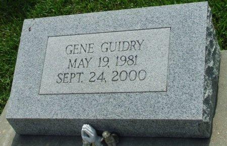GUIDRY, GENE - Acadia County, Louisiana   GENE GUIDRY - Louisiana Gravestone Photos
