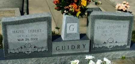 GUIDRY, ESSIE JOSEPH, SR - Acadia County, Louisiana | ESSIE JOSEPH, SR GUIDRY - Louisiana Gravestone Photos