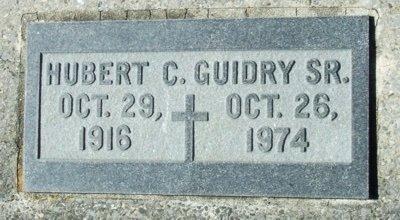 GUIDRY, HUBERT C, SR - Acadia County, Louisiana   HUBERT C, SR GUIDRY - Louisiana Gravestone Photos