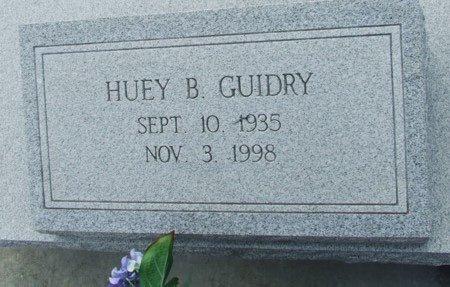 GUIDRY, HUEY B - Acadia County, Louisiana | HUEY B GUIDRY - Louisiana Gravestone Photos