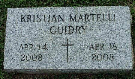 GUIDRY, KRISTIAN MARTELLI - Acadia County, Louisiana   KRISTIAN MARTELLI GUIDRY - Louisiana Gravestone Photos