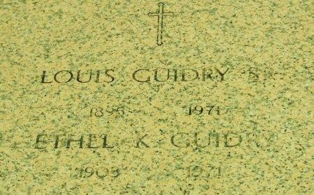 GUIDRY, ETHEL - Acadia County, Louisiana | ETHEL GUIDRY - Louisiana Gravestone Photos