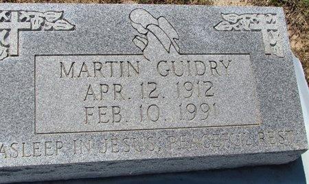 GUIDRY, MARTIN - Acadia County, Louisiana | MARTIN GUIDRY - Louisiana Gravestone Photos