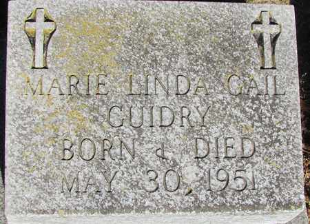 GUIDRY, MARIE LINDA GAIL - Acadia County, Louisiana | MARIE LINDA GAIL GUIDRY - Louisiana Gravestone Photos
