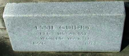 GUIDRY, ESSIE (VETERAN WWII) - Acadia County, Louisiana | ESSIE (VETERAN WWII) GUIDRY - Louisiana Gravestone Photos