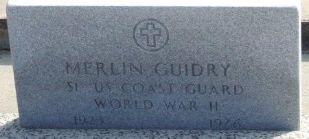 GUIDRY, MERLIN (VETERAN WWII) - Acadia County, Louisiana   MERLIN (VETERAN WWII) GUIDRY - Louisiana Gravestone Photos