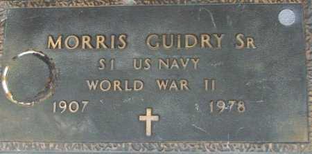 GUIDRY, MORRIS, SR (VETERAN WWII) - Acadia County, Louisiana | MORRIS, SR (VETERAN WWII) GUIDRY - Louisiana Gravestone Photos