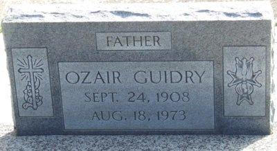 GUIDRY, OZAIR - Acadia County, Louisiana   OZAIR GUIDRY - Louisiana Gravestone Photos