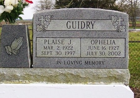 GUIDRY, OPHELIA - Acadia County, Louisiana | OPHELIA GUIDRY - Louisiana Gravestone Photos