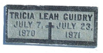 GUIDRY, TRICIA LEAH - Acadia County, Louisiana | TRICIA LEAH GUIDRY - Louisiana Gravestone Photos