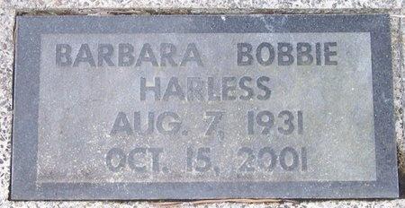 HUFF HARLESS, BARBARA BOBBIE JEAN - Acadia County, Louisiana | BARBARA BOBBIE JEAN HUFF HARLESS - Louisiana Gravestone Photos