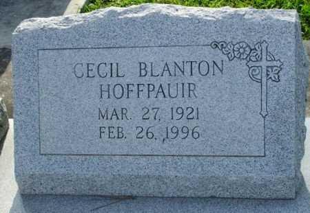 HOFFPAUIR, CECIL BLANTON - Acadia County, Louisiana | CECIL BLANTON HOFFPAUIR - Louisiana Gravestone Photos
