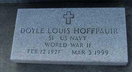 HOFFPAUIR, DOYLE LOUIS (VETERAN WWII) - Acadia County, Louisiana | DOYLE LOUIS (VETERAN WWII) HOFFPAUIR - Louisiana Gravestone Photos