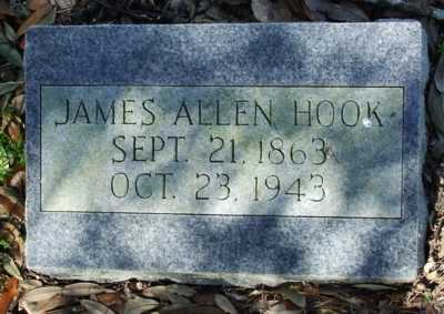 HOOK, JAMES ALLEN - Acadia County, Louisiana | JAMES ALLEN HOOK - Louisiana Gravestone Photos