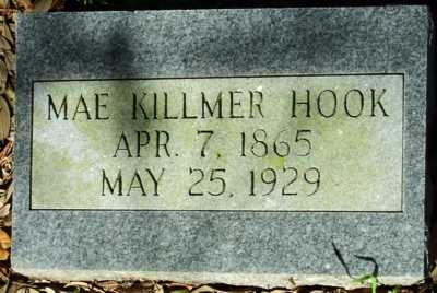 KILLMER HOOK, MAE - Acadia County, Louisiana | MAE KILLMER HOOK - Louisiana Gravestone Photos
