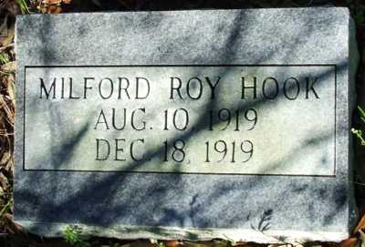 HOOK, MILFORD ROY - Acadia County, Louisiana | MILFORD ROY HOOK - Louisiana Gravestone Photos