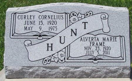 HUNT, ALVERTA MARIE - Acadia County, Louisiana   ALVERTA MARIE HUNT - Louisiana Gravestone Photos