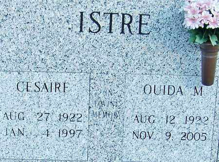 ISTRE, OUIDA M - Acadia County, Louisiana | OUIDA M ISTRE - Louisiana Gravestone Photos
