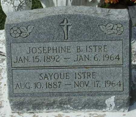 ISTRE, JOSEPHINE B - Acadia County, Louisiana   JOSEPHINE B ISTRE - Louisiana Gravestone Photos