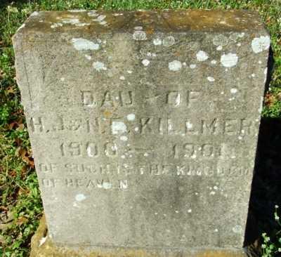 KILLMER, INFANT DAUGHTER - Acadia County, Louisiana   INFANT DAUGHTER KILLMER - Louisiana Gravestone Photos