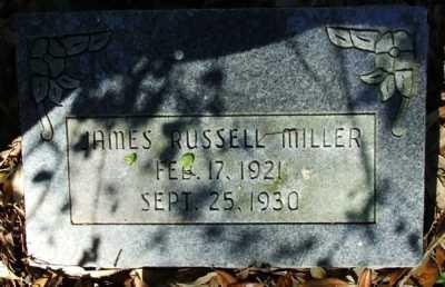 MILLER, JAMES RUSSELL - Acadia County, Louisiana | JAMES RUSSELL MILLER - Louisiana Gravestone Photos