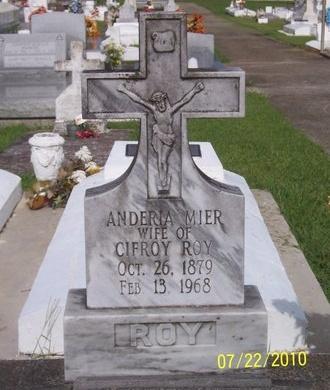 ROY, ANDERIA - Acadia County, Louisiana | ANDERIA ROY - Louisiana Gravestone Photos