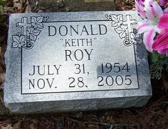 ROY, DONALD KEITH - Acadia County, Louisiana   DONALD KEITH ROY - Louisiana Gravestone Photos