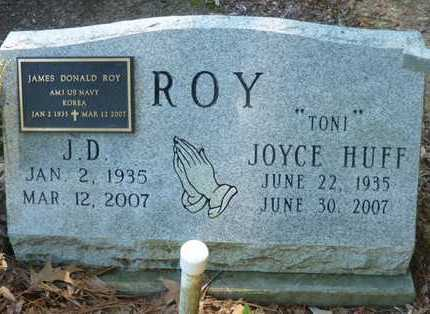 ROY, JAMES DONALD - Acadia County, Louisiana | JAMES DONALD ROY - Louisiana Gravestone Photos