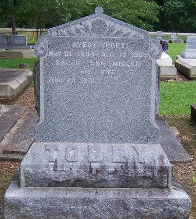MILLER TOBEY, SARAH ANN - Acadia County, Louisiana | SARAH ANN MILLER TOBEY - Louisiana Gravestone Photos