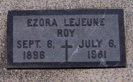 ROY, EZORA (CLOSEUP) - Acadia County, Louisiana | EZORA (CLOSEUP) ROY - Louisiana Gravestone Photos
