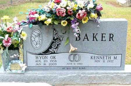 BAKER, HYON OK - Allen County, Louisiana | HYON OK BAKER - Louisiana Gravestone Photos
