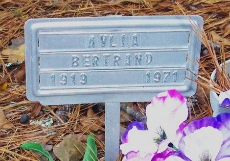 BERTRAND, AVLIA - Allen County, Louisiana | AVLIA BERTRAND - Louisiana Gravestone Photos