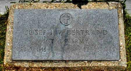 BERTRAND, JOSEPH VERCIE  (VETERAN WWII) - Allen County, Louisiana   JOSEPH VERCIE  (VETERAN WWII) BERTRAND - Louisiana Gravestone Photos