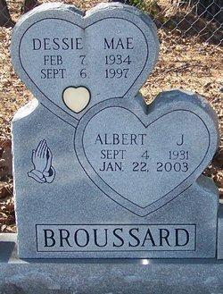 GUILLET BROUSSARD, DESSIE MAE - Allen County, Louisiana | DESSIE MAE GUILLET BROUSSARD - Louisiana Gravestone Photos
